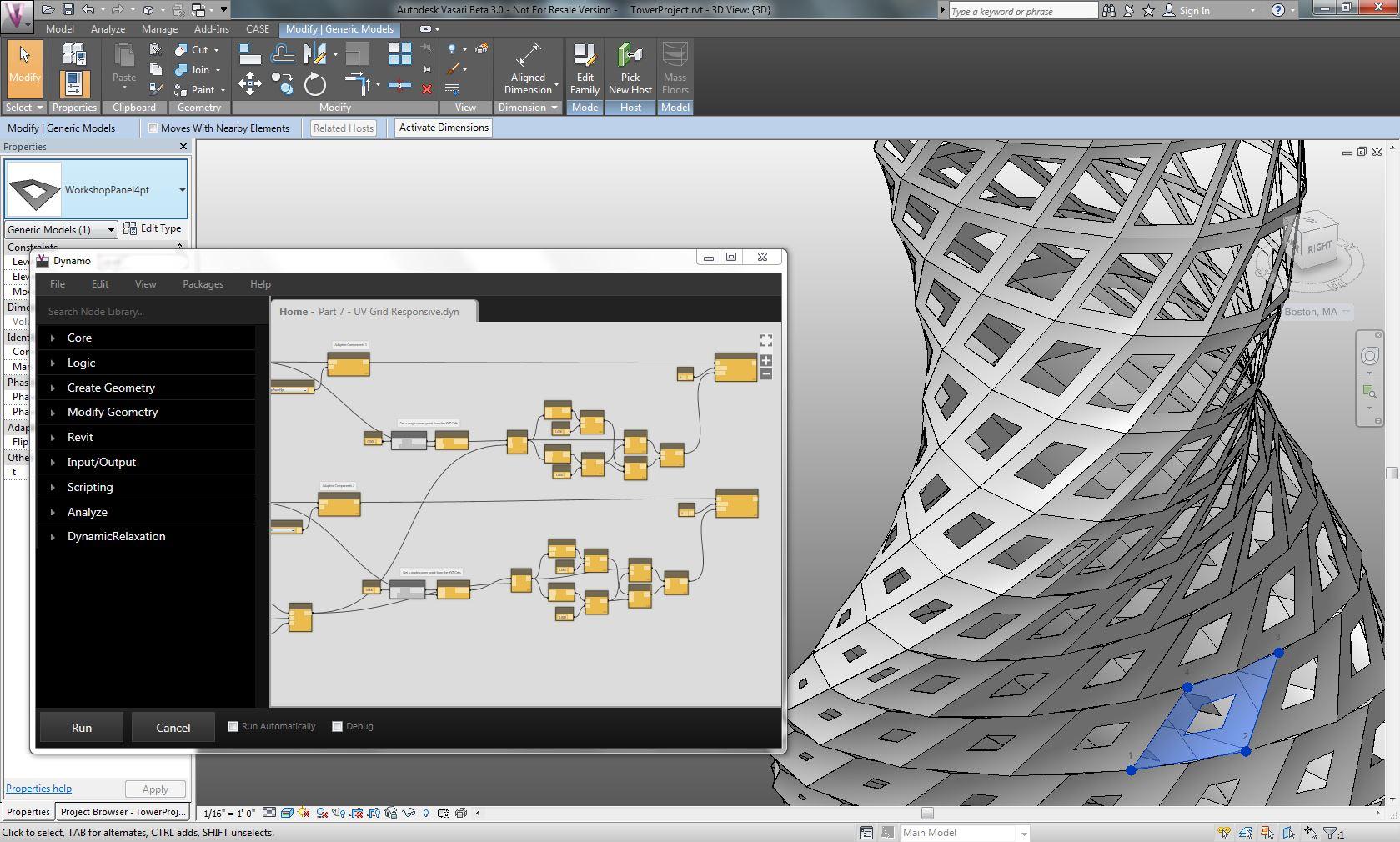 Dynamo autumn workshop recap dynamo bim for Curtain creator software