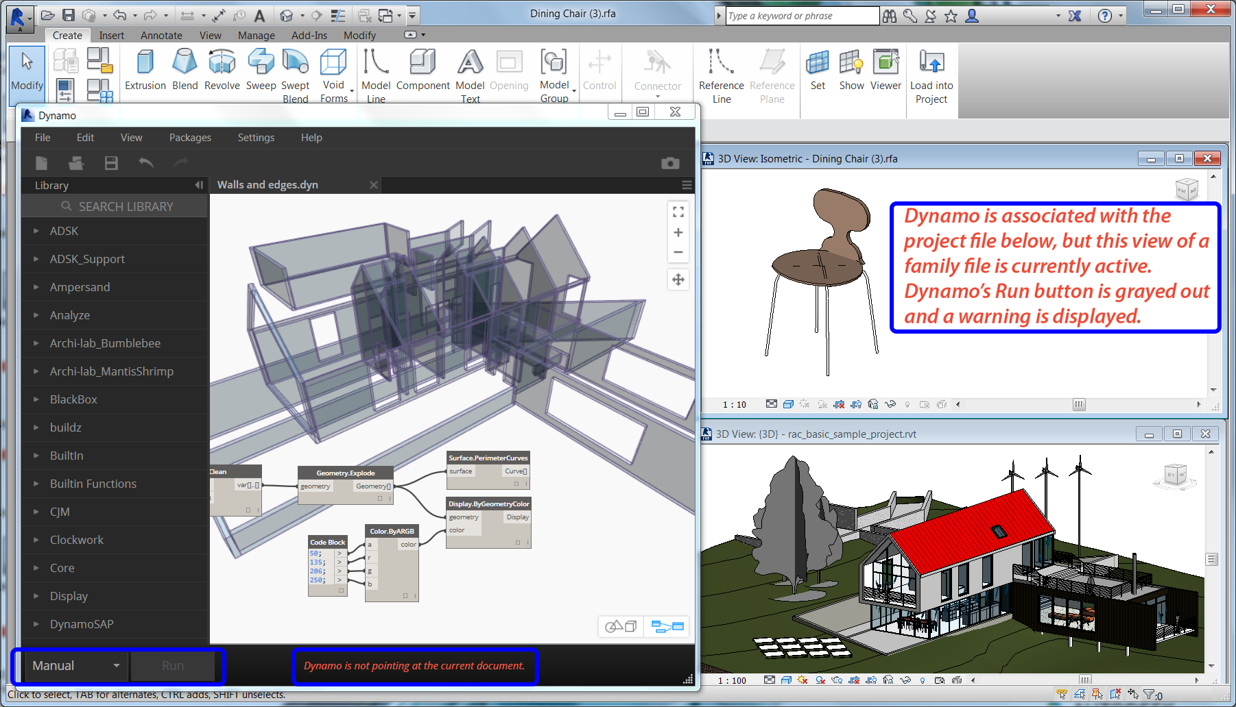 Working with Revit | Dynamo BIM