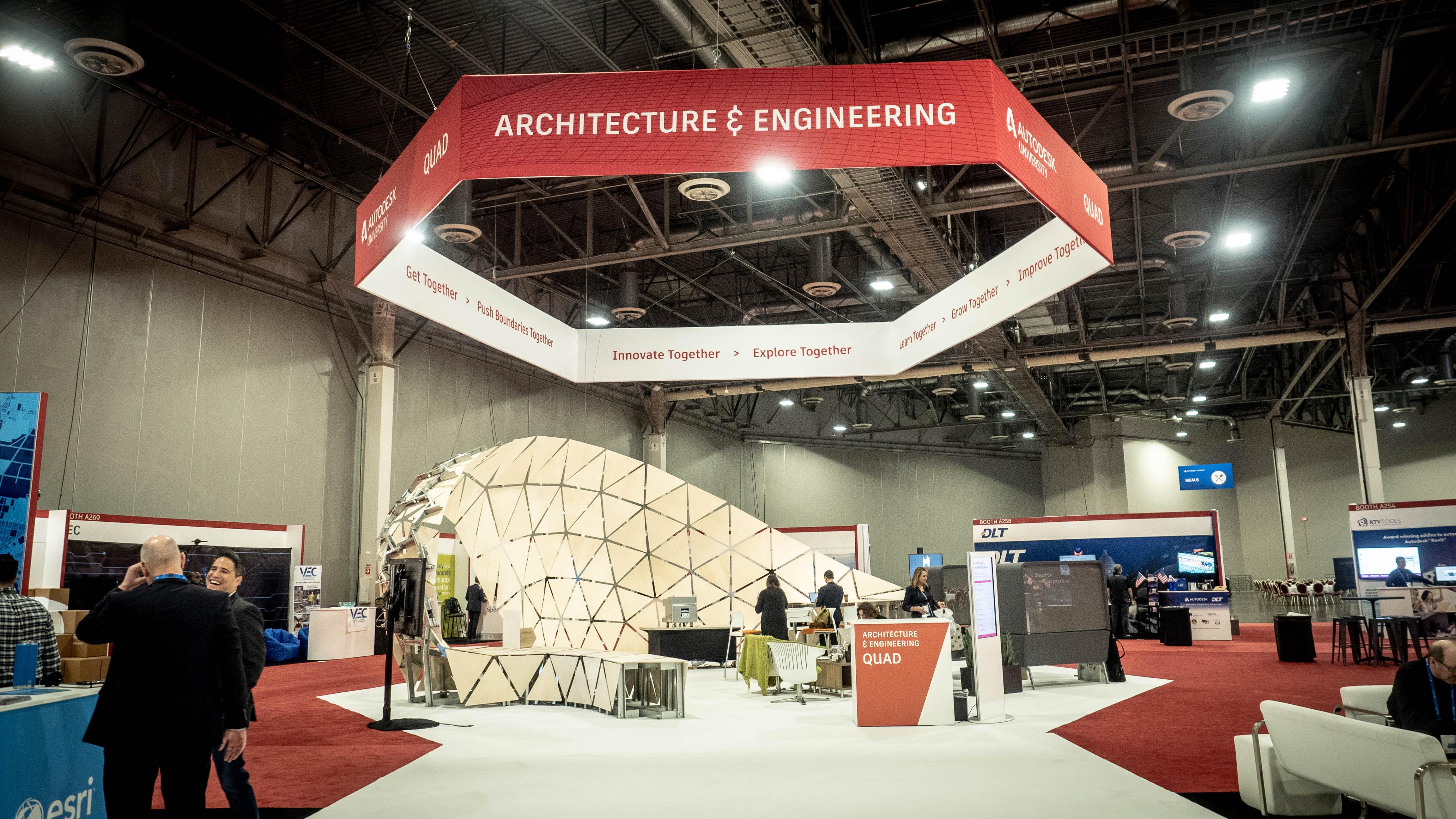 Dynamo Pavilion at Autodesk University 2018 | Dynamo BIM